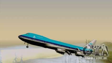 Boeing 747-200B KLM para GTA San Andreas