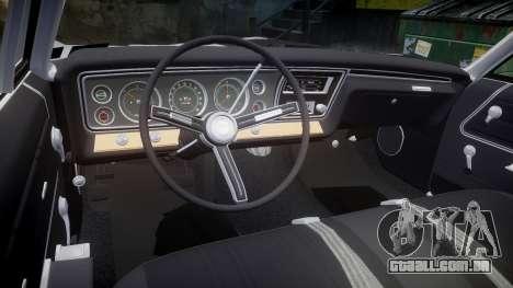 Chevrolet Impala 1967 Custom livery 1 para GTA 4 vista lateral