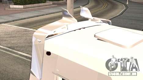 Ford Prisma IV Microbus para GTA San Andreas vista interior