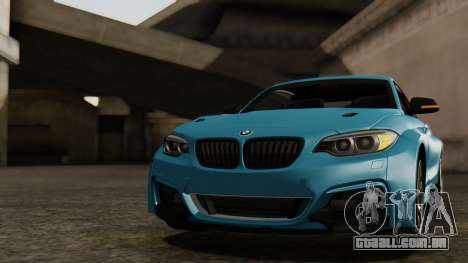 BMW M235i F22 Sport 2014 para GTA San Andreas interior