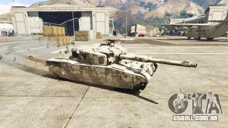 Miniatura Rhino tank para GTA 5