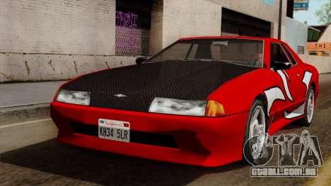 Vinil para Elegia - NFSMW para GTA San Andreas