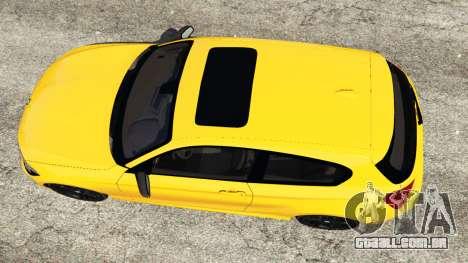 GTA 5 BMW M135i (F21) 2013 voltar vista