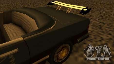 FreeShow Feltzer para GTA San Andreas vista traseira