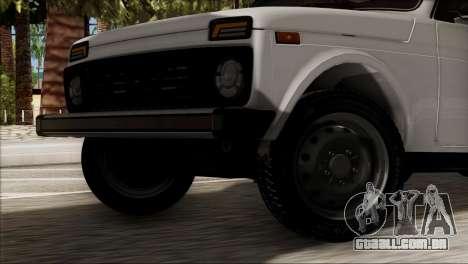 VAZ 2121 Niva BUFG Edição para GTA San Andreas traseira esquerda vista