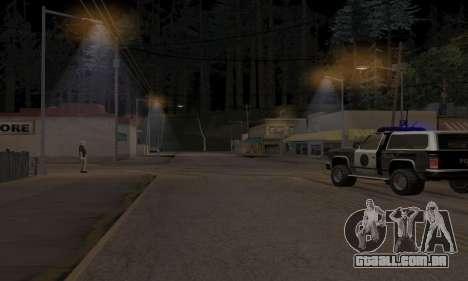 Lamppost Lights v3.0 para GTA San Andreas segunda tela
