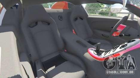 GTA 5 Bugatti Veyron Grand Sport vista lateral direita