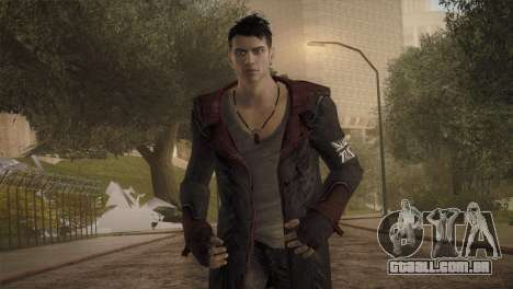 Dante from DMC para GTA San Andreas terceira tela