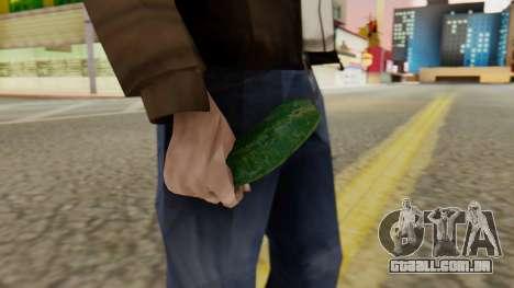 Pepino para GTA San Andreas segunda tela