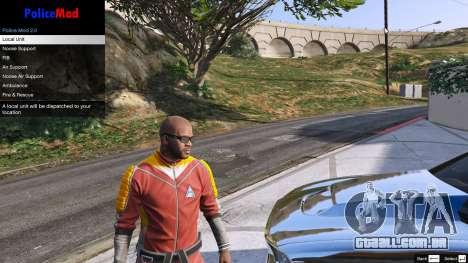 GTA 5 PoliceMod 2 2.0.2 terceiro screenshot