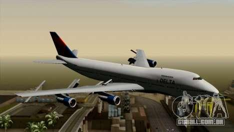 Boeing 747 Delta para GTA San Andreas