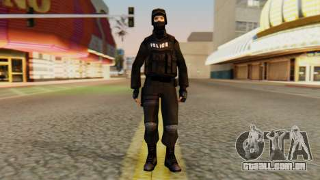 Modificado SWAT para GTA San Andreas segunda tela