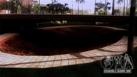 Novas texturas Skate Park para GTA San Andreas terceira tela