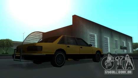 New Taxi para vista lateral GTA San Andreas