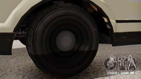 GTA 5 Albany Esperanto Police Roadcruiser IVF para GTA San Andreas traseira esquerda vista