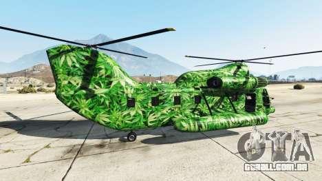GTA 5 Western Company Cargobob Cannabis segundo screenshot