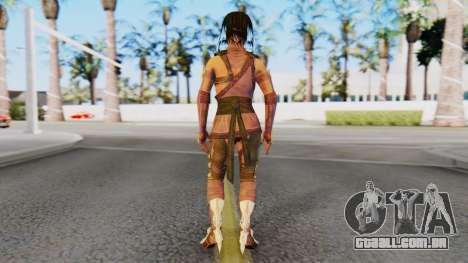 [MKX] Mileena para GTA San Andreas terceira tela