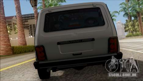 VAZ 2121 Niva BUFG Edição para GTA San Andreas vista direita