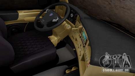 Scania R para GTA San Andreas vista direita