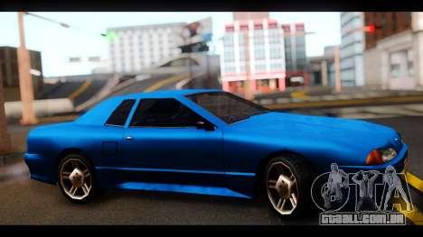 New Elegy by HEPBEH para GTA San Andreas traseira esquerda vista