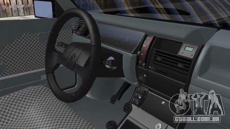 Renault 11 Tuning para GTA San Andreas traseira esquerda vista