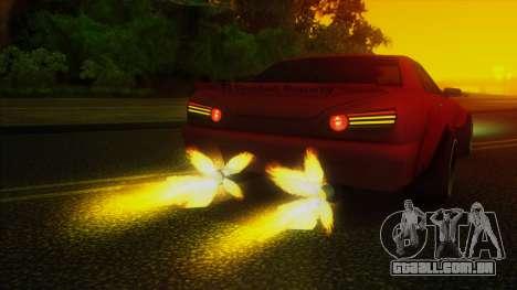 Elegy Rocket Bunny Edition para GTA San Andreas vista superior