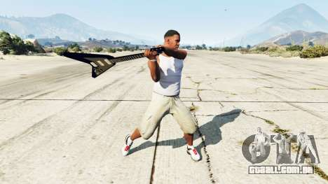 GTA 5 Guitarra Gibson Flying V segundo screenshot