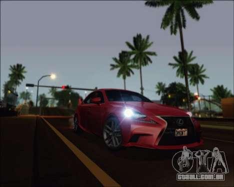 Project Vision ENB 1.1 para GTA San Andreas por diante tela