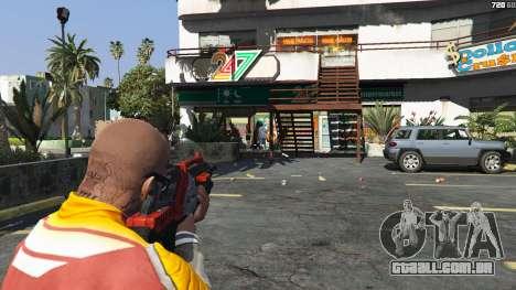 GTA 5 M-76 Revenant из Mass Effect 2 quinta imagem de tela