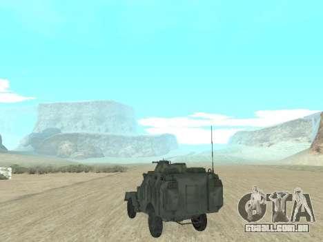 A APC 40 para GTA San Andreas esquerda vista