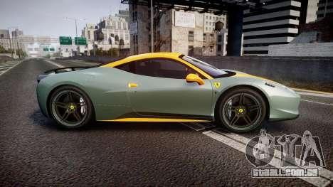 Ferrari 458 Italia Novitec Rosso 2012 para GTA 4 esquerda vista