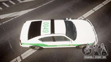 Bravado Buffalo Police [ELS] para GTA 4 vista direita