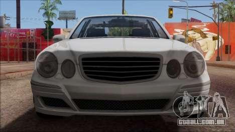 Mercedes-Benz E55 W211 AMG para GTA San Andreas vista superior