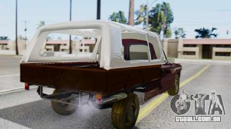 Peugeot 404 Camioneta para GTA San Andreas esquerda vista