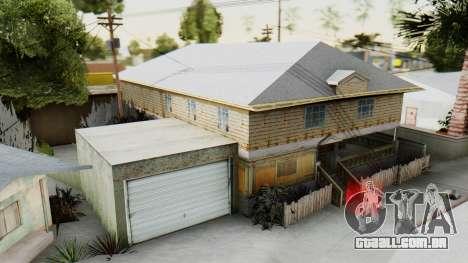 New CJs House para GTA San Andreas segunda tela
