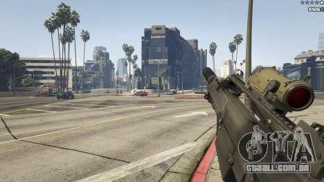 GTA 5 Battlefield 3 G36C v1.1 oitmo screenshot