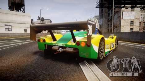 Radical SR8 RX 2011 [30] para GTA 4 traseira esquerda vista