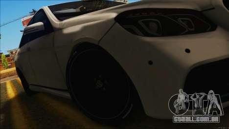 Mercedes-Benz E63 Brabus BUFG Edition para GTA San Andreas vista direita