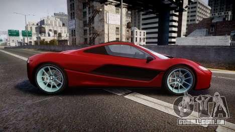 GTA V Progen T20 para GTA 4 esquerda vista