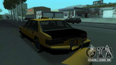 New Taxi para as rodas de GTA San Andreas