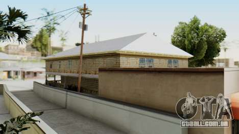 New CJs House para GTA San Andreas terceira tela