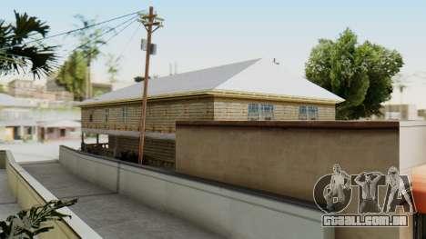New CJs House para GTA San Andreas terceira tela