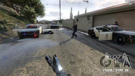 GTA 5 Bad Cops LSPD Livery 1.1 quarto screenshot