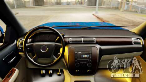 Chevrolet Silverado 2010 TLoU Edition para GTA San Andreas vista direita
