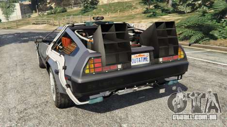 DeLorean DMC-12 Back To The Future v0.1 para GTA 5