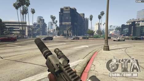 GTA 5 Battlefield 3 G36C v1.1 quinta imagem de tela