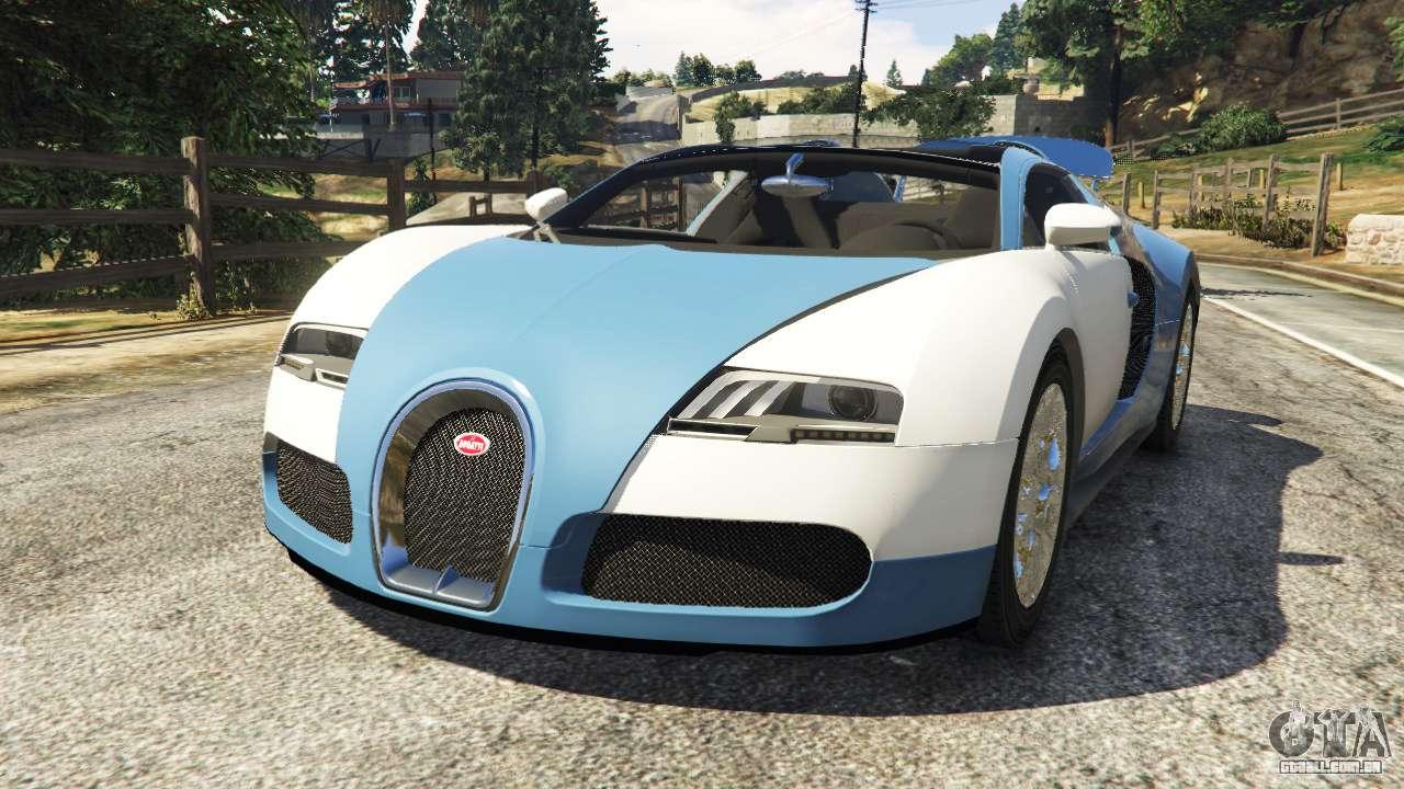 bugatti veyron grand sport v2 0 para gta 5. Black Bedroom Furniture Sets. Home Design Ideas