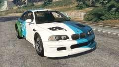 BMW M3 GTR E46 PJ1