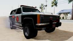 Police Ranger with Lightbars para GTA San Andreas