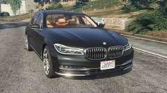 BMW 750Li 2016 para GTA 5